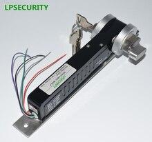 Lpsecurity フェイルセキュア 24VDC/12VDC 5 ライン電気ドロップボルトロック手動キーアクセス制御システム電気デッドボルト