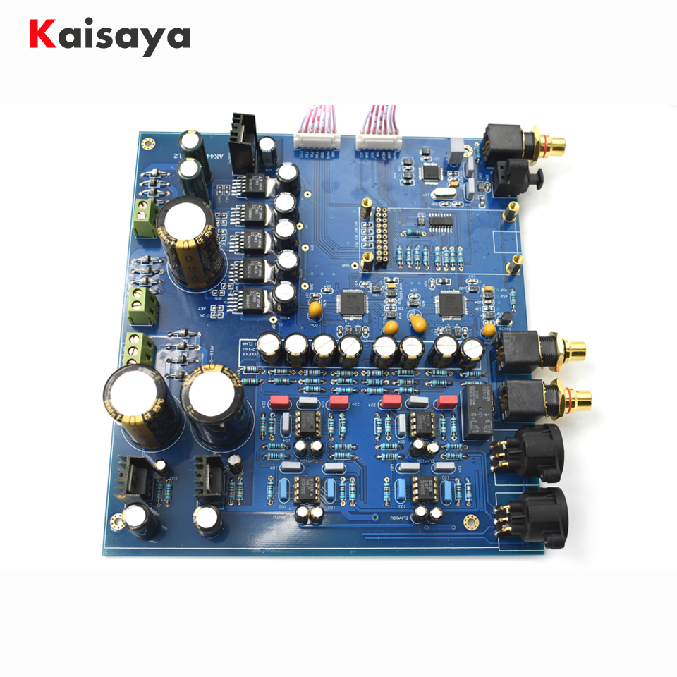 DIY KIT Dual core AK4497 DAC decoder AK4118 32bit 384K DSD DAC board for hifi amplifier цена 2017