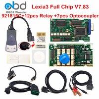 Best Lexia3 Full Chip 921815C Lexia 3 PP2000 Diagbox V7.83 Car Diagnostic Scanner For Peugeot For Citroen Cars Lexia 3 Auto Tool
