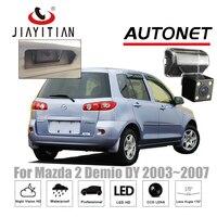 JiaYiTian rückfahrkamera Für Mazda2 Mazda Demio DY 2003 ~ 2007 CCD Nachtsicht rückfahrkamera rückfahrkamera lizenz lampe kamera