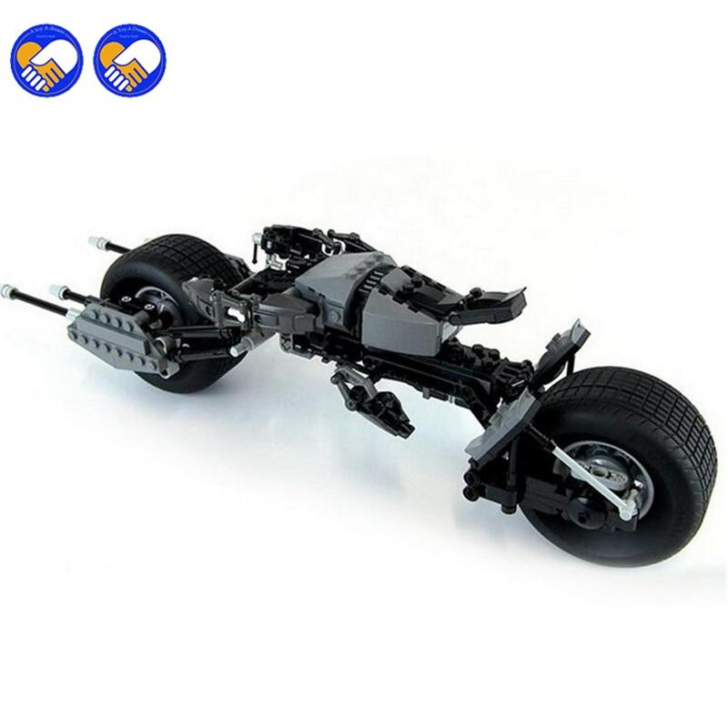 A mainan Mimpi Decool 7115 Pahlawan Super The Dark Knight Batman - Mainan bangunan dan konstruksi - Foto 2