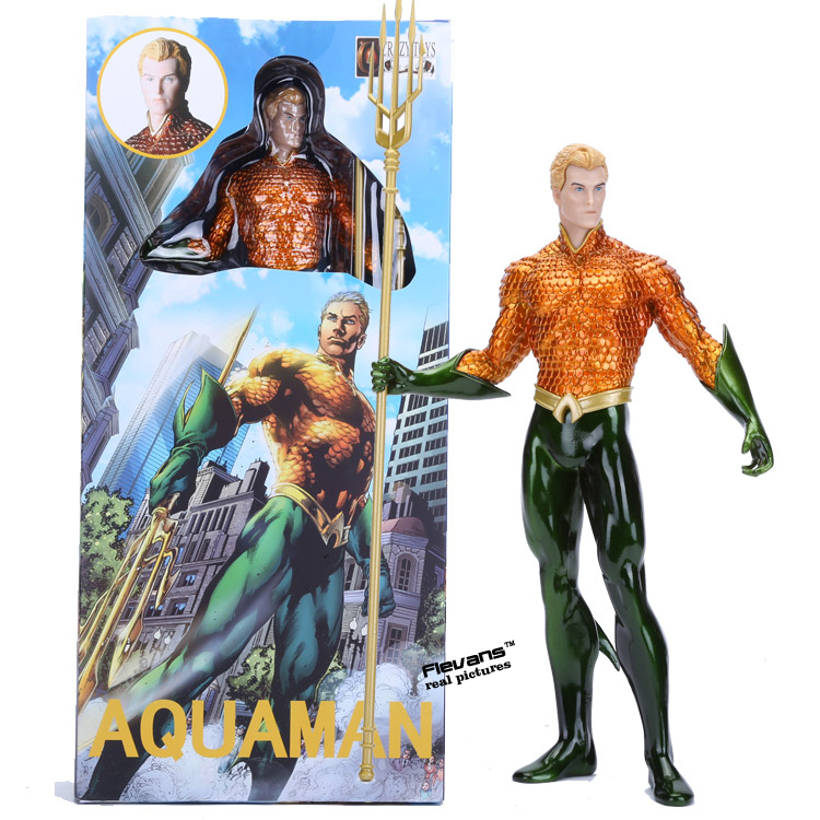 Crazy Toys Aquaman Arthur Curry PVC Action Figure Collectible Model Toy 10 crazy toys aquaman arthur curry pvc action figure collectible model toy 10