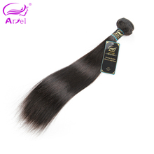 Ariel Hair Products Remy Peruvian Hair Bundles Straight 10″-28″ Natural Color Can Be Dyed & Bleached Human Hair Weave