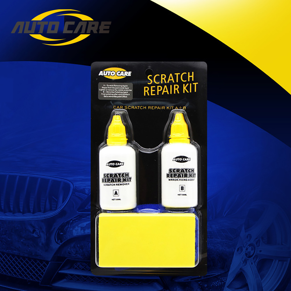 Car Paint Scratch Repair Set Removal Scuff Scratch Easy Operation Effective Economy Paint Repair Kit