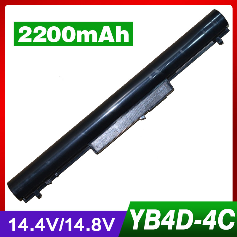 4 celular 2200 mAh batería del ordenador portátil para HP Chromebook 14-c010us Pavilion 14 Sleekbook 14 15 TouchSmart 14 15 Ultrabook 14 15 serie