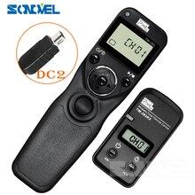 Pixel TW 283 DC2 Draadloze Timer Afstandsbediening Voor Nikon Z7 Z6 D7500 D3300 D3200 D3100 D750 D610 D600 D90 Df ontspanknop