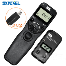 Pixel TW 283 DC2 Drahtlose Timer Fernbedienung Für Nikon Z7 Z6 D7500 D3300 D3200 D3100 D750 D610 D600 D90 Df auslöser