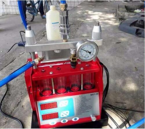 Prix pour Livraison gratuite Injecteur de carburant plus propre et testeur avec SIEMENS MST-30 pompe de nettoyage à ultrasons intégré 4 Cylindres à ultrasons