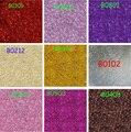 Comercio al por mayor 100 gramos Paquetes Extra Ultra Fine Escarcha Polvo Del Polvo de Uñas de Arte Consejos Cuerpo Artesanía Decoración Opción Del Color 100g