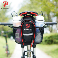 WHEEL UP Portable Bike Bag Rear MTB Mountain Road Seat Pouch Bicycle Seatpost  Tail Bottle Bags