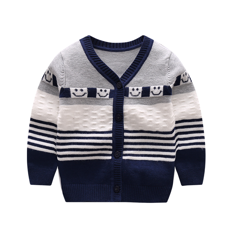 Casual-Baby-Sweater-For-Boys-Girls-V-Neck-Long-Sleeve-Infant-Sweater-Striped-Cotton-Knit-Cardigan-Spring-Autumn-Oudoor-Cardigan-1