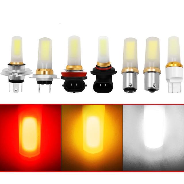 1X H8 H11 Led H4 H7 9006 T20 1156 1157 Led Fog Lamp Running Light Turn Signal Bulb Brake Light Turning Parking Bulb 12V