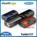 100% Original Sigelei Fuchai 213 Caja Mod SS/TI/NI200/TCR/TFR Modos 10 w-213 W 0.1 Fuchai 213 w TC 0.5-3.0ohm Mod