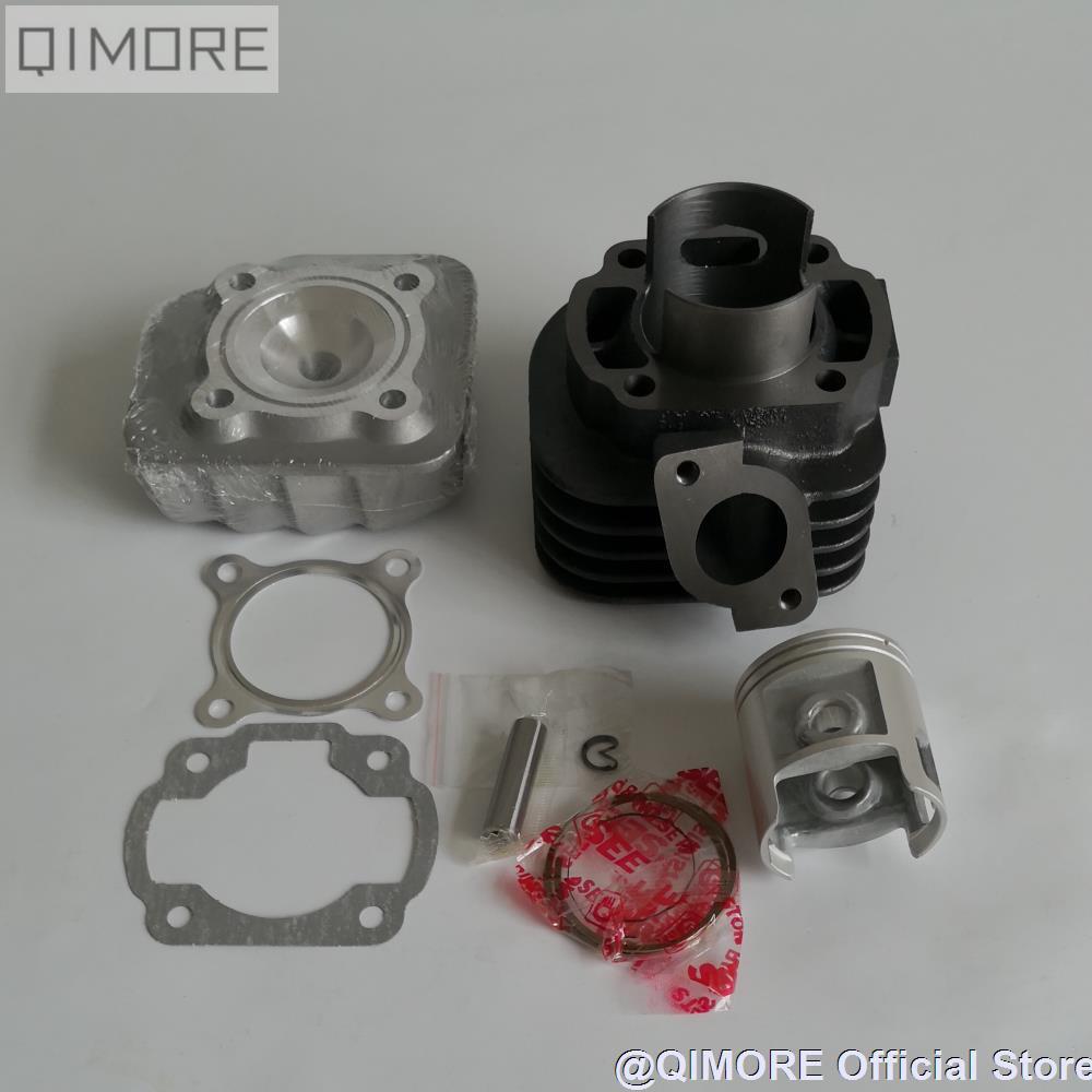 JOG70 47mm big bore kit Cylinder Set 10mm piston pin for 2 stroke Scooter ATV Minarelli