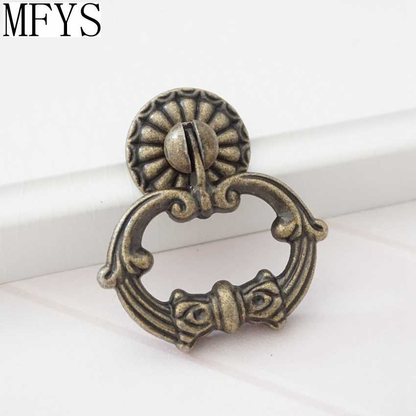 Drawer S Ring Drop Pull Antique