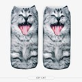 New Girls 3D Animals Printed Multiple Colors Comfortable Casual Unisex Cute Low Cut Ankle Socks