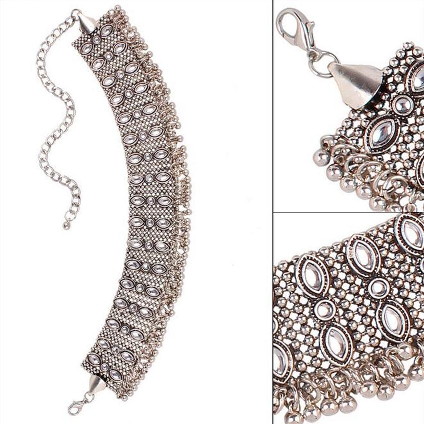 silver necklace choker (4)