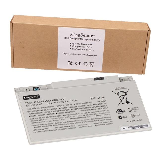 Original , genuina nueva VGP-BPS33 batería del ordenador portátil para Sony VAIO SVT-14 SVT-15 T14 T15 Ultrabooks VGP-BPS33 BPS33 11.4 V 3760 mAh