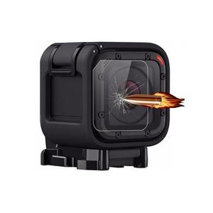 Image 2 - Защитный чехол из закаленного стекла для GoPro Go pro Hero 4/5 Hero4 Hero5 Session объектив камеры Ультрапрозрачная защитная пленка