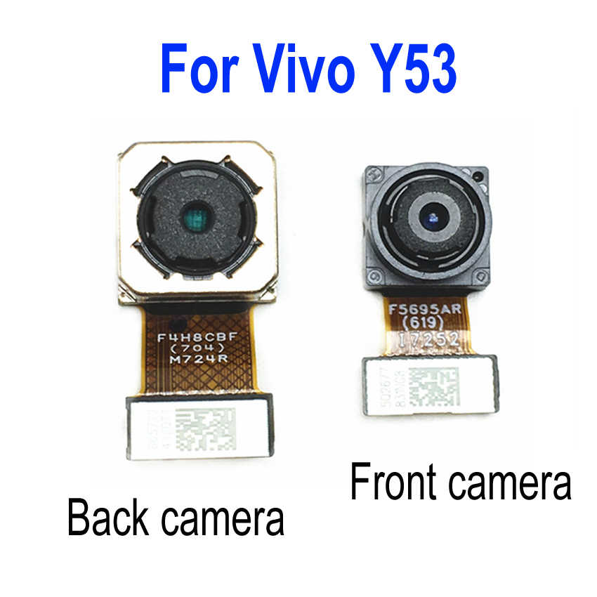 LTPro Best Quality Tested Working Front Small Facing Camera / Main Big Rear  Back Camera For Vivo Y53 Phone Parts