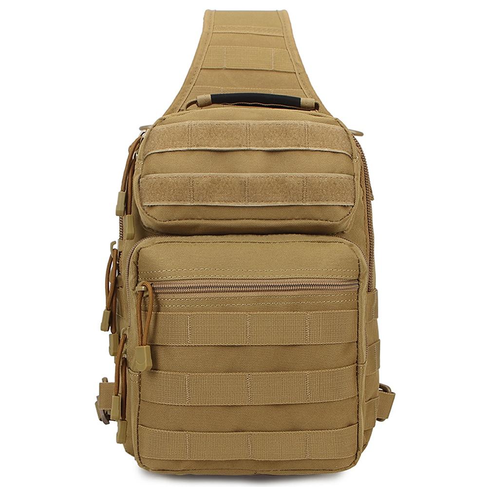 Crossbody Chest Bag for Fishing Shoulder Backpack Outdoor Utility Sling Fishing Backpack Single Shoulder Fishing Tackle Bag|Fishing Bags| |  - title=