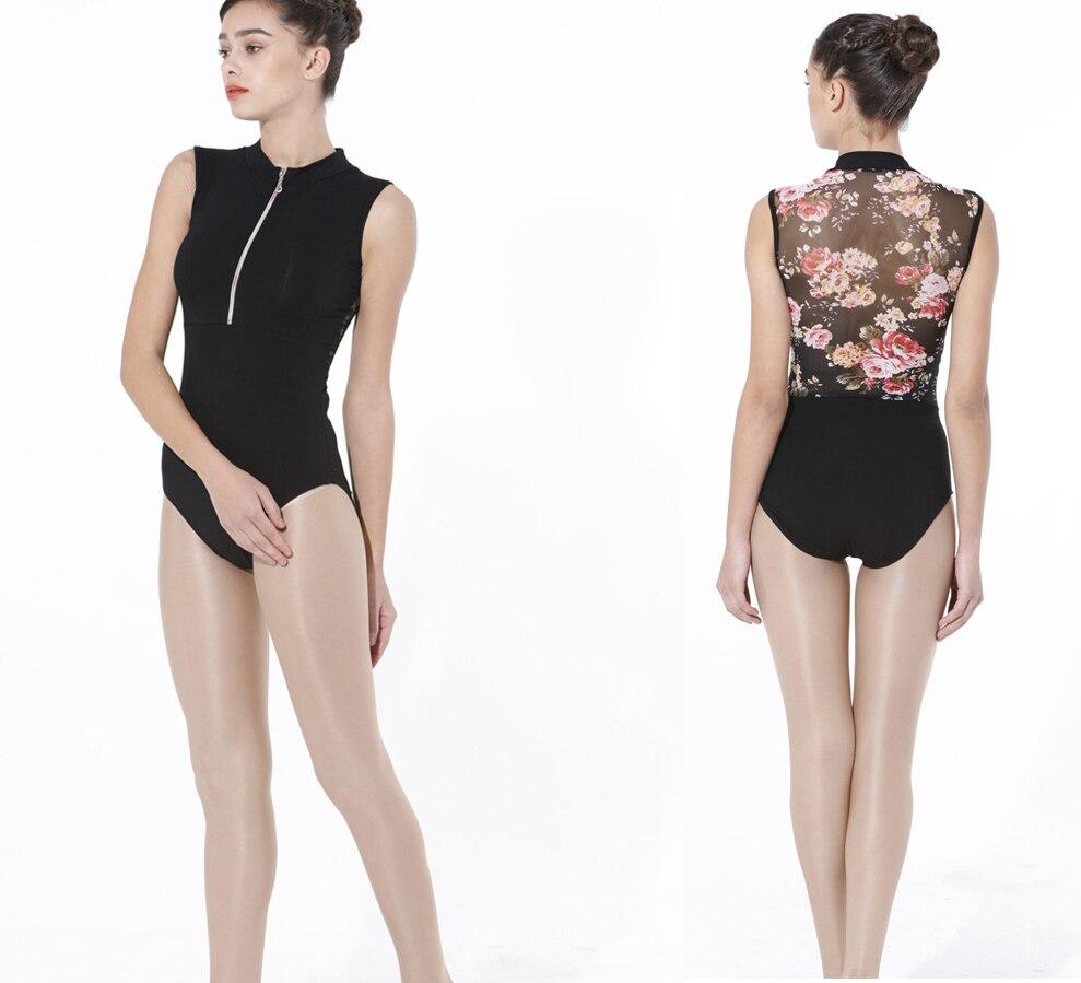 gimnasztikai trikó nők számára Csipke Floral Style balettruha - Újdonság