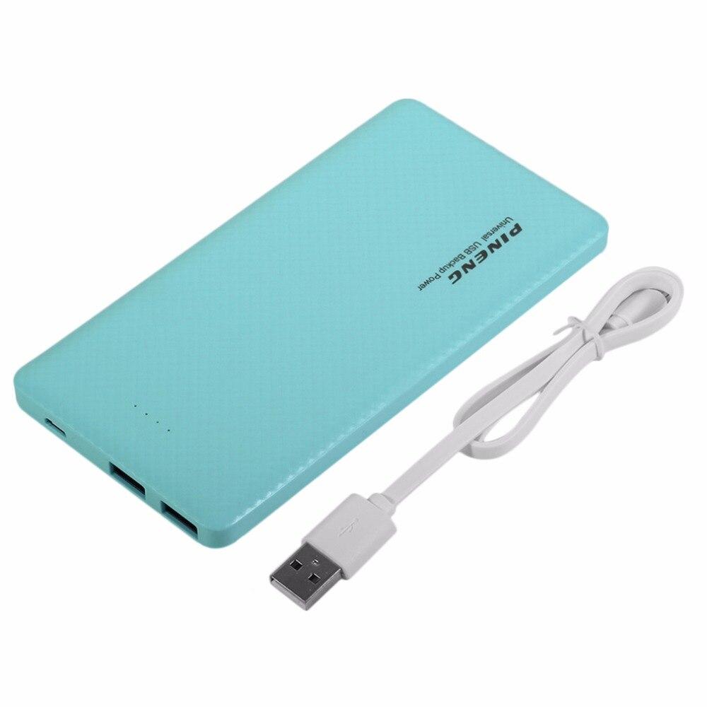 imágenes para PINENG 10000 MAH PN-958 Gran Capacidad Moble Teléfono Banco de Alimentación Externa Cargador de Batería fuente de Alimentación Para El Iphone Para Samsung Tablet