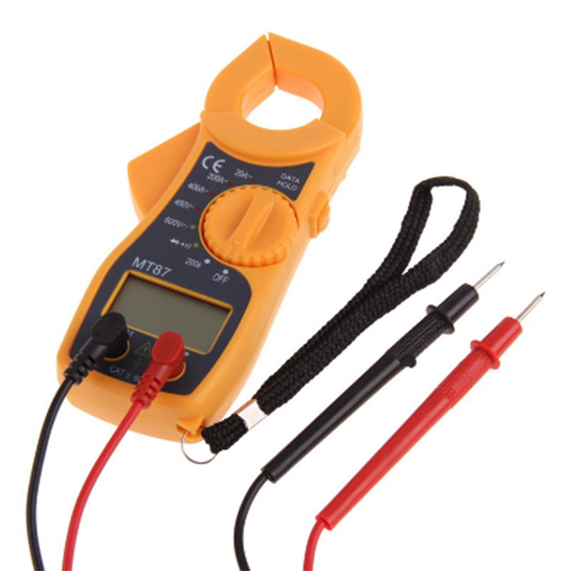 High Current Clamp : High quality digital multimeter electronic clamp meter ac