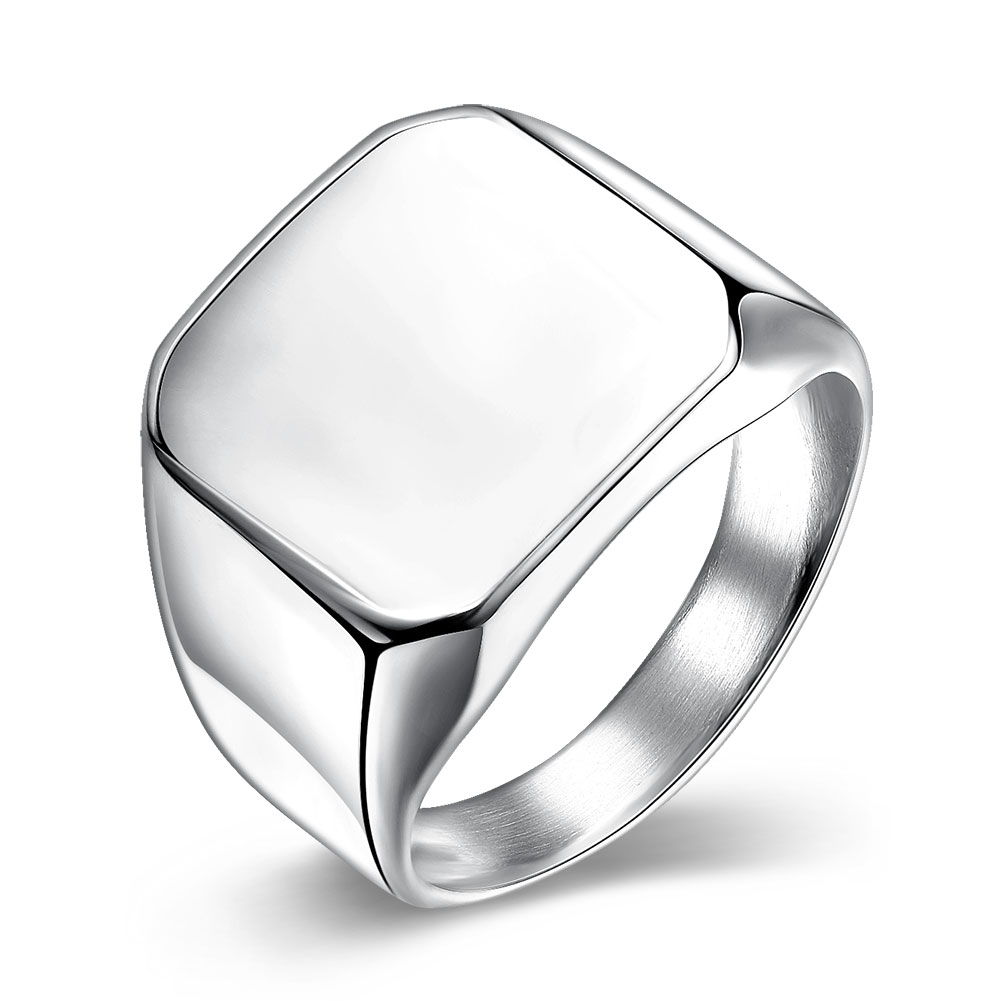 Vintage font b Jewelry b font Titanium Stainless Steel Rings for Men Punk Design Male Rings