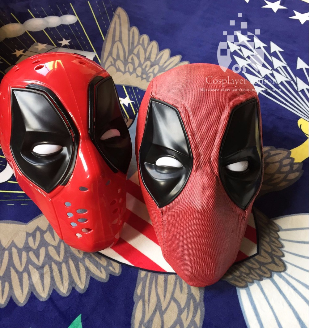 New Upgraded Deadpool ABS Plastic Full Shell Mask/Helmet with TWO Sets of Magnetic Lenses  Halloween Prop Gift Cosplay