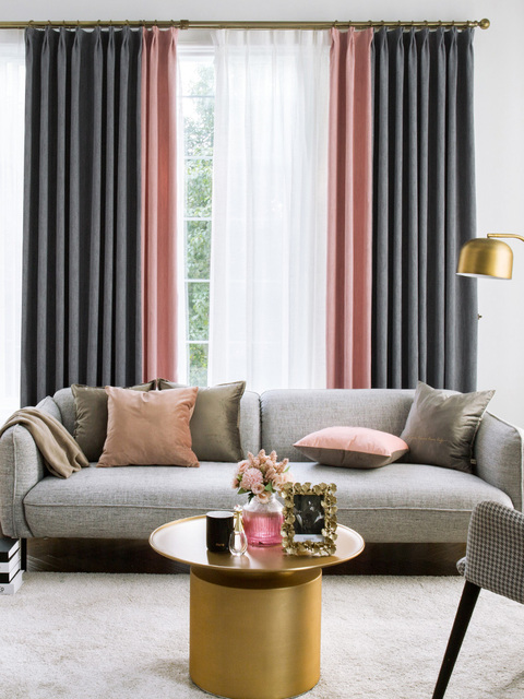 Modern Nordic Luxurious Curtains