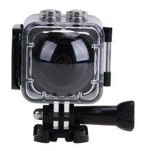 HD 4K 1440P Panoramic 360 Degree Video Camera Waterproof 220*360 Degree Lens Action Sports DV Camcorder Travel Photo Camera