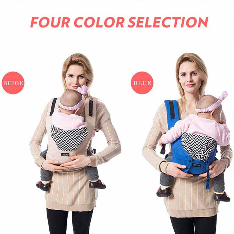 Ergonomic Baby Carriers Backpacks And Portable Baby Sling Wrap For 5-36 Months Babies 8