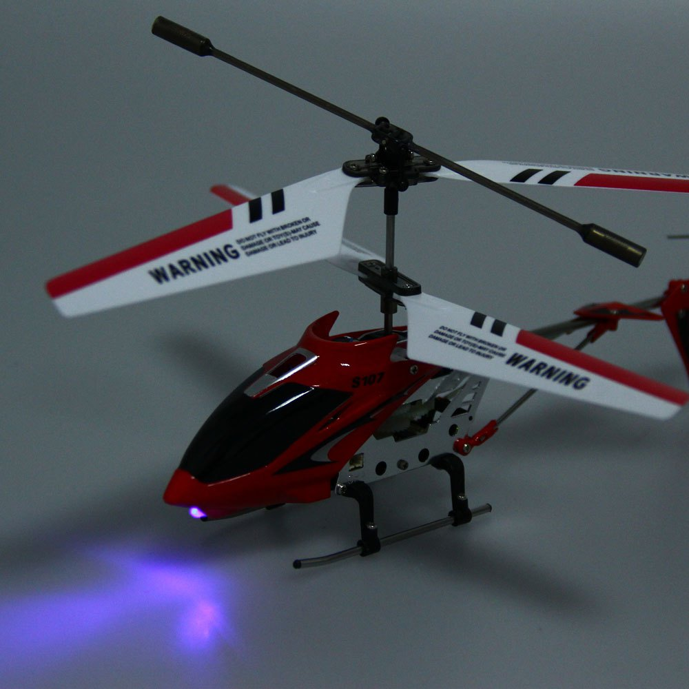 Syma S107G RC Helicopter 3CH Mini Indoor Remote Control Co ...