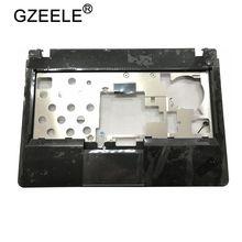 GZEELE ใหม่สำหรับ Lenovo สำหรับ ThinkPad สำหรับ Edge E320 E325 Palmrest ฝาครอบด้านบนพร้อม Touchpad 04W1935 คีย์บอร์ด BEZEL topcase