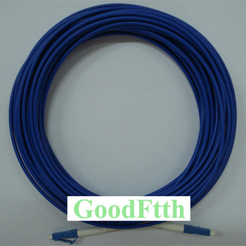 цена на Armoured armored Patch Cord Jumper Cable LC-LC UPC LC/UPC-LC/UPC SM Simplex GoodFtth 100-500m