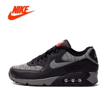 Original New Arrival Official NIKE Men's AIR MAX 90 ESSENTIAL Breathable Running Shoes Sports Sneakers