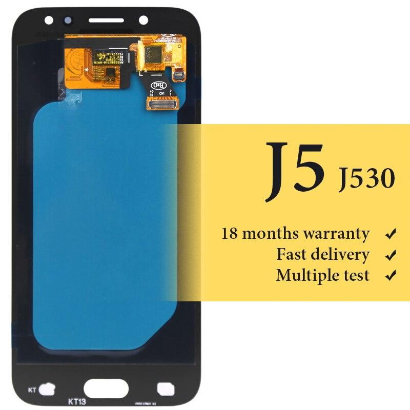 Pour Samsung J5 2017 lcd affichage OEM qualité pour téléphone mobile J530 J530F J5 pro 5.2 pouces écran lcd de remplacement assambly