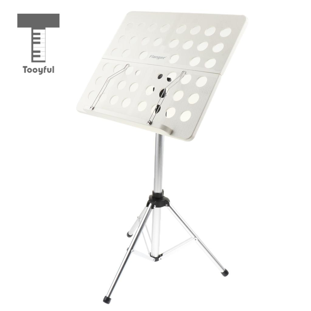 Tooyful Foldable Sheet Music Score Tripod Base Stand Holder w/Bag for Guitar/Violin/Guzheng Parts glaser d36440 00 glaser