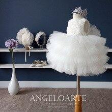 Детская Одежда Для Девочек Принцесса Цветок Брак Марли Играл Летняя Одежда Танец Платье Белого