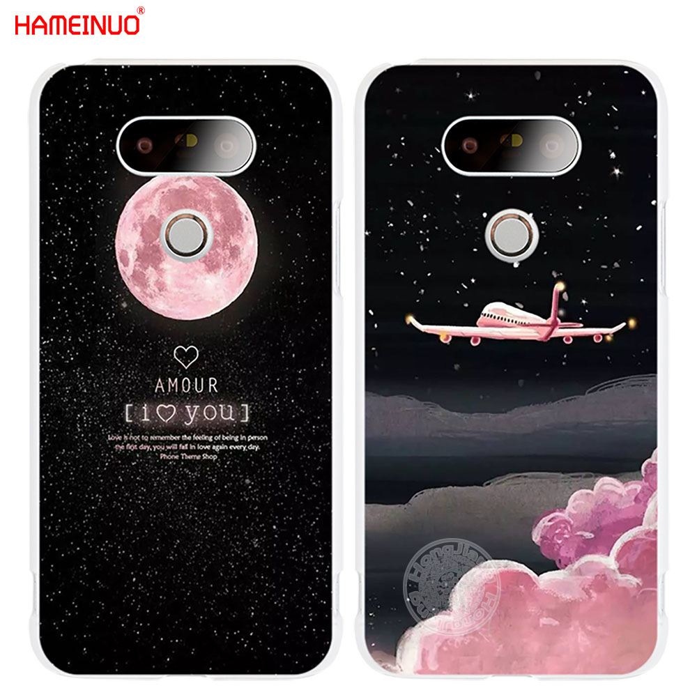 Temperate Hameinuo Space Moon Aircraft Air Plane Love Night Case Phone Cover For Lg G6 G5 K10 K7 K4 Magna Spirit 2016 2017 Mild And Mellow Phone Bags & Cases Half-wrapped Case