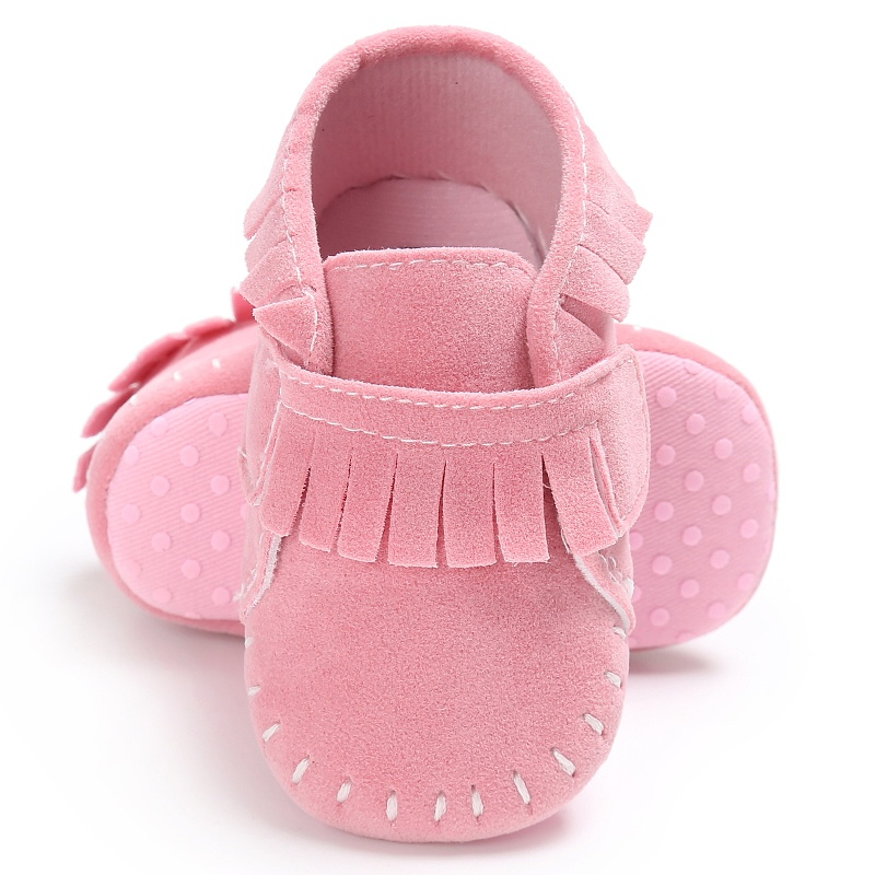 Baby Shoes Newborn Shoes Boys Girls Classic Baby Moccasins Soft Moccs Stitched Soft Soled First Walkers Infant Sneakers