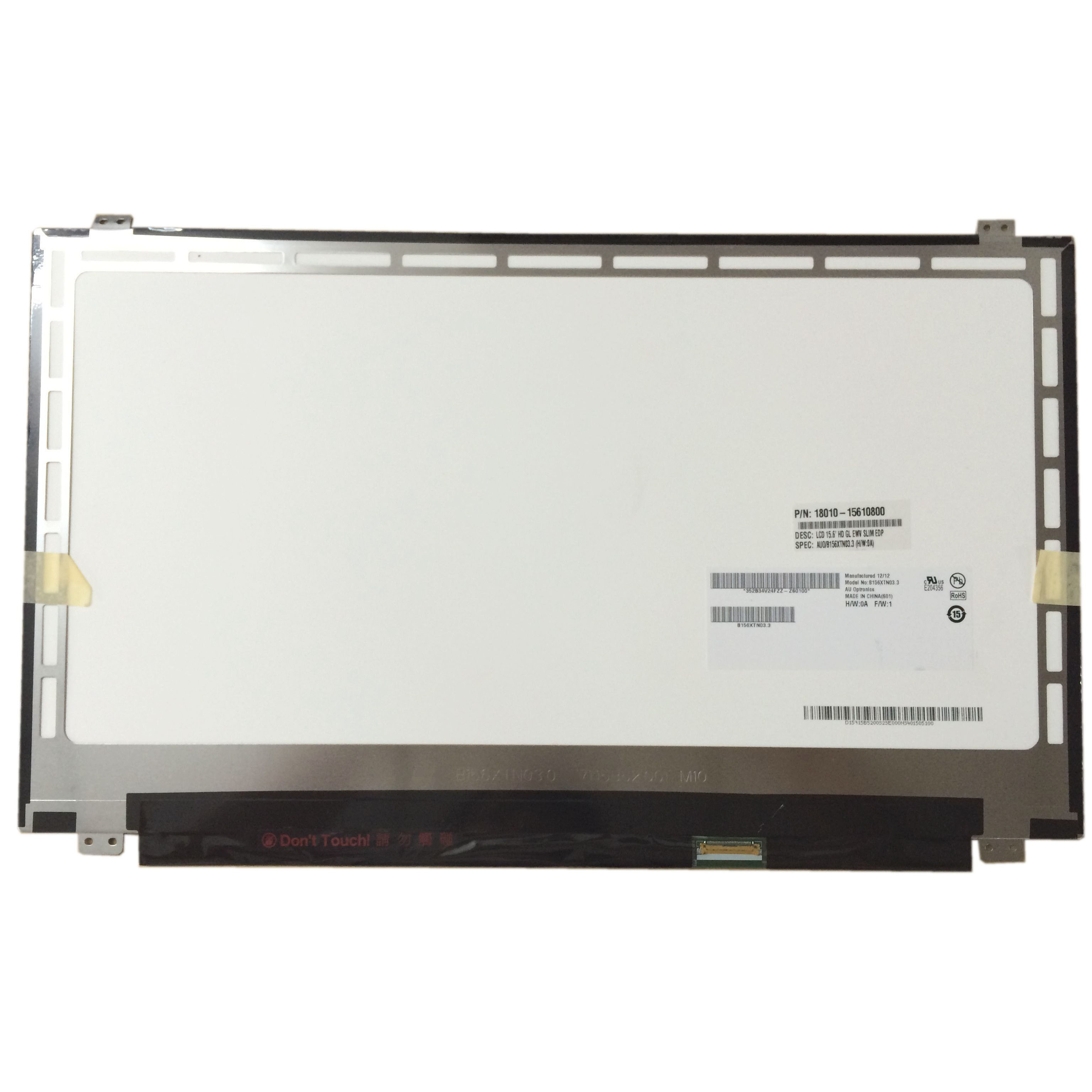 Livraison Gratuite! B156XTN03.3 NT156WHM-N12 LP156WHU TPA1 B156XW04 V.8 LP156WHB TPD1 LTN156AT31 écran lcd d'ordinateur portable panneau 30pin
