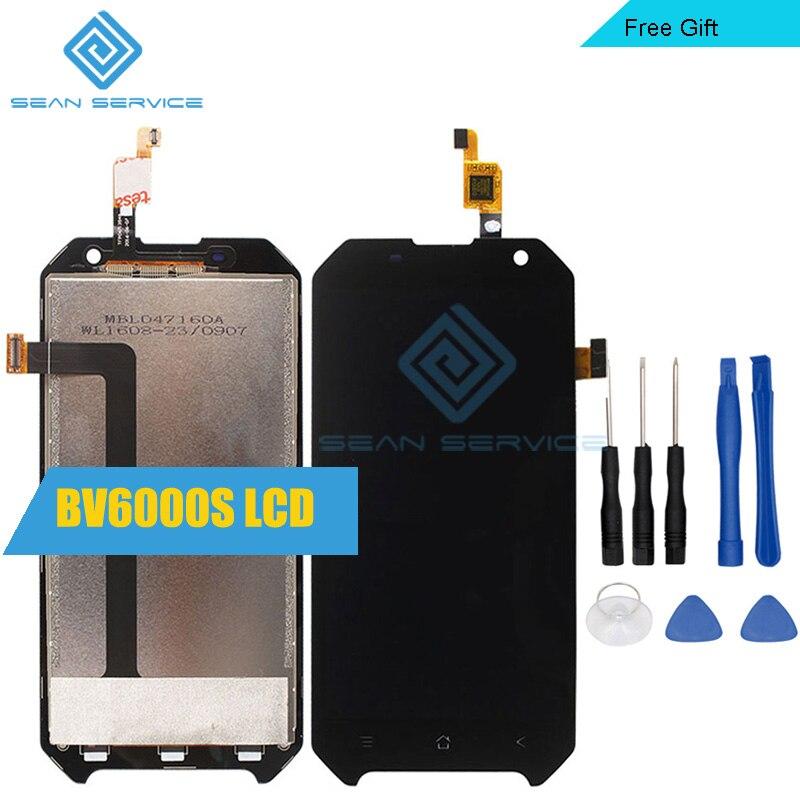 Für Blackview BV6000S 100% Original LCD Display und TP Touchscreen Digitizer Montage lcds + Werkzeuge 4,7