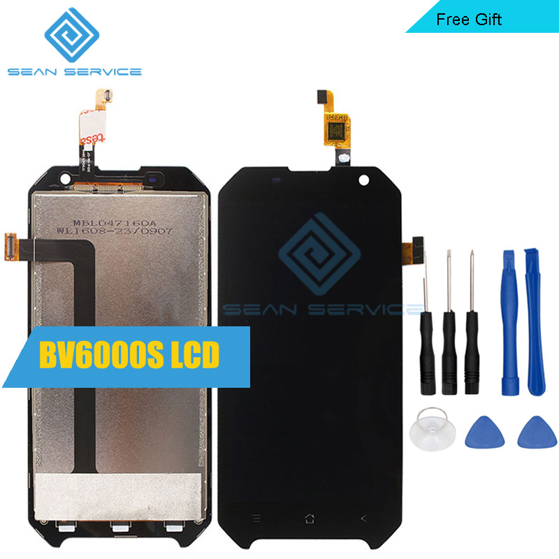For Blackview BV6000S 100% Original LCD Display and TP Touch Screen Digitizer Assembly lcds +Tools 4.7 in stock