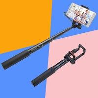 YUNTENG 808 Mini Bedrade Kabel Uitschuifbare Selfie Stick Pole Monopod voor IOS Android Iphone 6 6 s 5 s Samsung HTC Huawei Smartphone