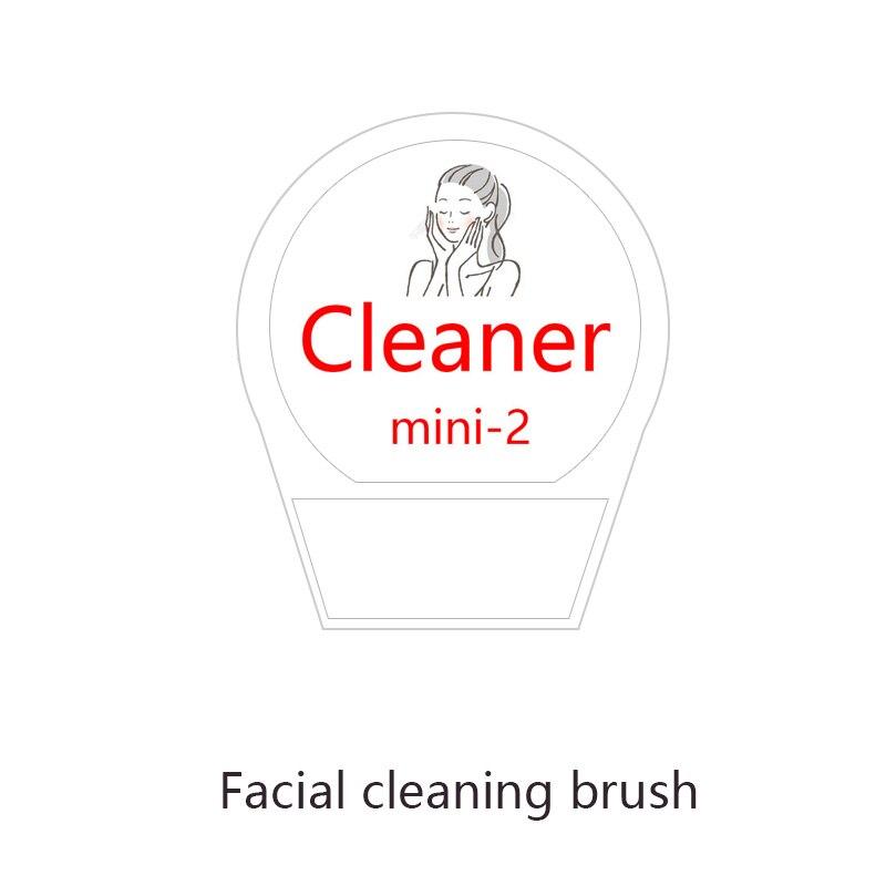 Mini 2 eléctrico de limpieza de poros faciales instrumento de limpieza blackhead acné cepillo suave novias novia regalo de Navidad