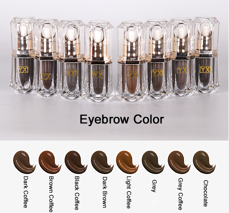 High Quality 5pcs 15ml Professional Cosmetic Manufacturer Microblading Pigment Permanent Makeup Eyebrow and Lip Tattoo Ink 14