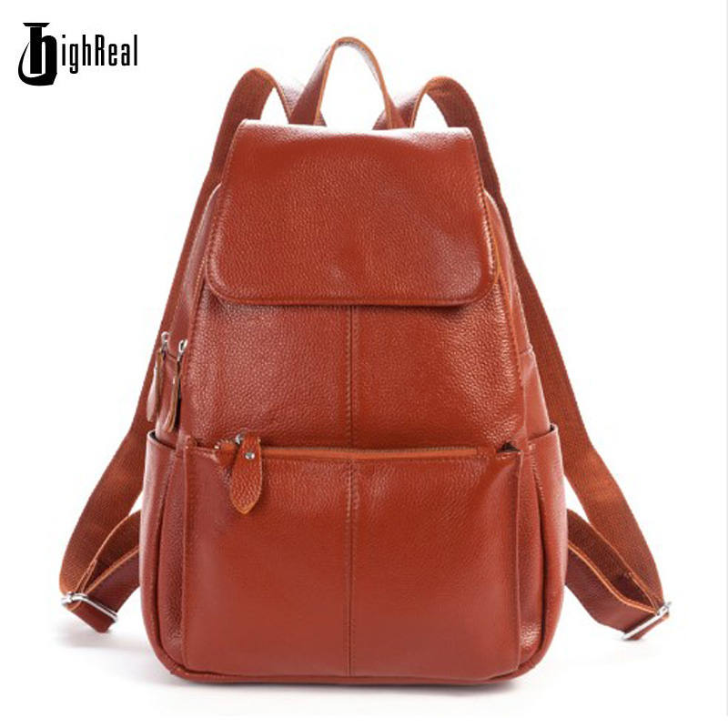 Women Backpacks Genuine Leather Famous Brand Ladies Backpack for Teenage Girls School Bags Fashion Mochilas Japan Korean Style календарь настенный 2016г 285 280мм 12л на скрепке d3657