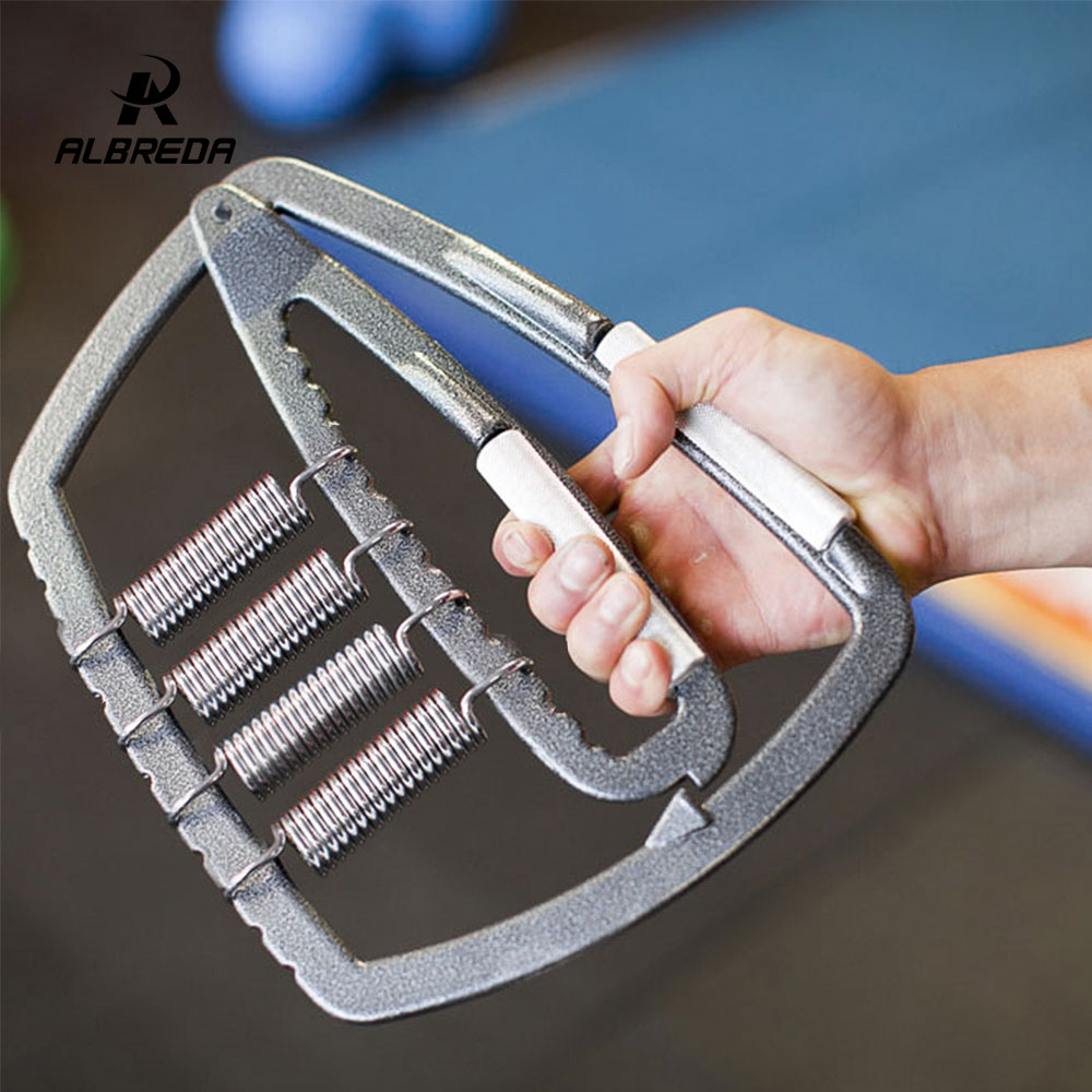 ALBREDA Weight Grip Fitness Equipments Hand-muscle Developer Sports & Entertainment Hand Grips Adjustment Grip Size (50-1000lb)